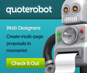 Web Designers - Create multi-page quotes on moments with QuoteRobot!